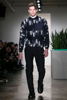 A look from the fall 2015 Patrik Ervell show. (Photo: Nowfashion)