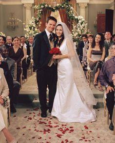 La boda de Mónica y Chandler