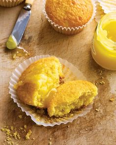 Massachusetts Corn Muffins - Typical American Baking for the English Kids Group