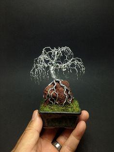 Weeping mame ROR wire bonsai tree by Ken To by KenToArt on deviantART