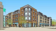 mixed-use project on Colony St.