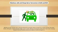 Rideshare, Car-pool, sharing a cab or a taxi have all become very popular modes of transport for our daily commuters; like school children, office goers, students attending colleges, sports or tuition.