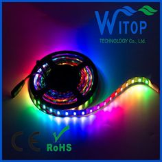 Colored Led Light Strips Brilliant 020Rgb View Addressable Ws2811 Rgb Led Car Light Bus Light