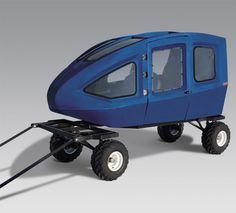 Equinox ATV Trailers - The ATV Coach MPV Brasov Romania, Atv Trailers, Bike Accessories, Equinox, 4x4, Blue, Quad, Outdoors, Snow