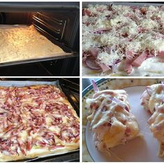 139105_2 Hawaiian Pizza, Mashed Potatoes, Cauliflower, Vegetables, Cooking, Ethnic Recipes, Party, Food, Drink