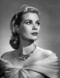 Princess Grace Kelly of Monaco - I had this picture on my bedroom wall growing up because I wanted to be a princess too. :)