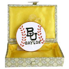 University - Baylor Baseball Ornament