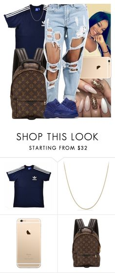"""Untitled #937"" by msixo ❤ liked on Polyvore featuring xO Design, adidas Originals, David Yurman and Louis Vuitton"