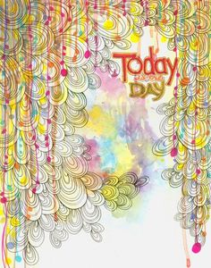 pretty pretty: http://www.etsy.com/listing/28184693/today-is-the-day-watercolor-print