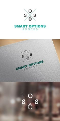 Create a compelling logo focused helping consumers find healthier snacks for Smart Options Snacks by Iskra_U