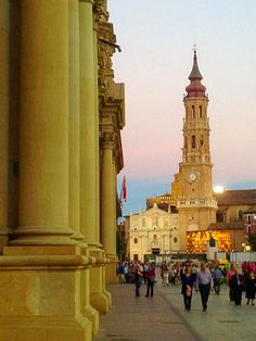 La Seo Cathedral, Zaragoza,  Spain.