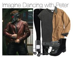 """""""Imagine Dancing with Peter"""" by fandomimagineshere ❤ liked on Polyvore featuring Dr. Denim, Monki and Bamboo"""