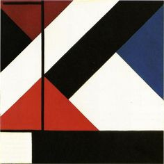 Simultaneous Counter composition   Artist: Theo van Doesburg (1883-1931) Style: Neoplasticism Genre: abstract