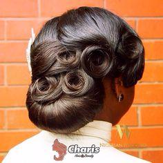 Nigerian wedding black bridal hair ideas and inspiration 28