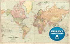 Printable world map labeled world map see map details from ruvur digital old world map printable download vintage world map printable map large world map high resolution world map posterastralia gumiabroncs Choice Image