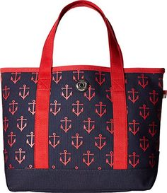 36186de65fe5 Tommy Hilfiger Women s Canvas All Anchor Small Tote - http   bags.bloggor