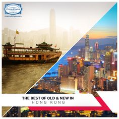 Cobbled streets, baroque churches, stone fortresses and lush green parks blend seamlessly with the ultramodern architecture of this busy city.  Experience the best of old and new in Hong Kong. #ExploreFourCorners