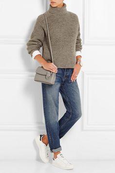 MICHAEL Michael Kors | Ava extra small textured-leather shoulder bag | NET-A-PORTER.COM