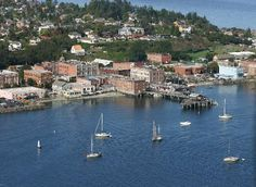 Port Townsend, an oft-overlooked gem of the Pacific Northwest, is but a short voyage south from Victoria.  Well worth a visit, check it out.  Accommodation: Fort Warden, Food & Libations: Sirens.