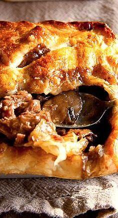 Steak & Mushroom Pot Pies