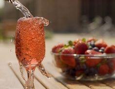 Champagner-Sangria - Rezept - ichkoche.at