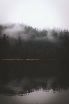 """salboissettphoto:  """" Moody day at the lake.  Instragram:https://www.instagram.com/young.seeker/?hl=en  """""""