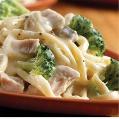 turkey and broccoli alfredo