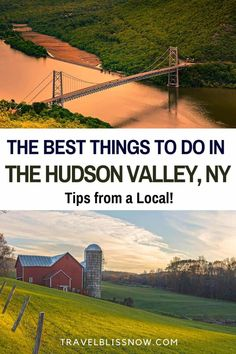Tips from a local on the best things to do in the Hudson Valley, New York | Best restaurants in the Hudson Valley | Where to stay in the Hudson Valley | Best day trips to the Hudson Valley | Hudson Valley Roadtrip | New York City getaways | Hudson Valley breweries | Hudson Valley cider Houses | Hudson Valley historic sites | best Hudson Valley towns Usa Travel Guide, Travel Usa, Travel Guides, Travel Tips, Cool Places To Visit, Places To Go, Hudson Valley, Hudson River, United States Travel
