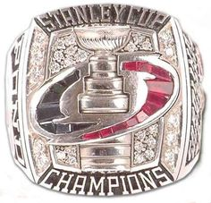 Carolina Hurricanes - 2006 Stanley Cup Ring
