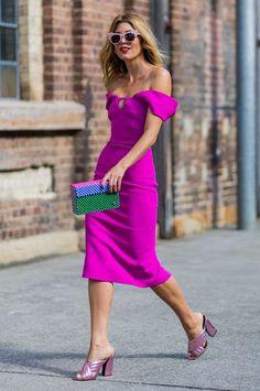 Womens fashion pink street styles 54 Ideas for 2019 Pink Fashion, Fashion Week, Star Fashion, Womens Fashion, Fashion Trends, Dress Fashion, Fashion Clothes, Outfit Zusammenstellen, Summer Dress