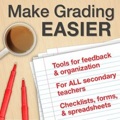 $1 - Collection of tools to help teachers streamline the grading and feedback process!