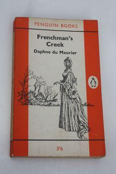 VINTAGE 60s 1st EDT PENGUIN CLASSICS DAPHNE DU MAURIER FRENCHMANS CREEK PB BOOK