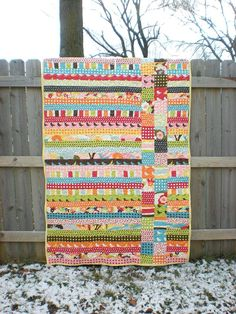Jelly Roll Charm Pack Quick Afternoon Quilt This Would Be Soo Easy And Strip Quilts Using Jelly Rolls