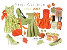 pantone linden green | Pantone Linden Green (15-0533) e Koi (17-1452)