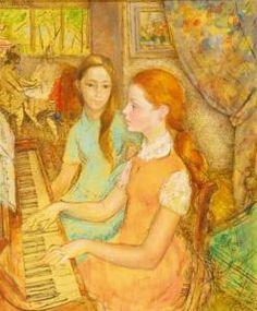 Lucien-Philippe Moretti - Piano Lesson, 1970