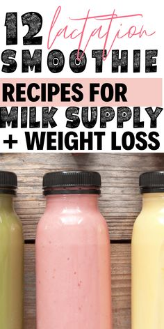 12 lactation smoothies that increase milk supply and help with weight loss after baby! # Breastfeeding Snacks 12 Lactation Smoothie Recipes for Milk Supply + Weight Loss Gassy Baby Breastfeeding, Breastfeeding Foods To Avoid, Fenugreek Breastfeeding, Breastfeeding Smoothie, Breastfeeding Cookies, Breastfeeding Benefits, Breastfeeding Quotes, Breastfeeding Outfits, Nursing Outfits