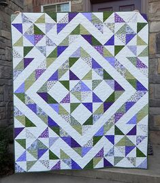 Stars Over Scott Quilt Free Tutorial