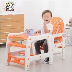 Multi-functional plastic children eat chair baby infant child seat chair table for dinner