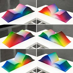 Tauba Auerbach\'s RGB Colorspace Atlas Depicts Every Color Imaginable ...