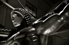 Life in Art Deco Photograph  Rockefeller Center, New York City - Atlas