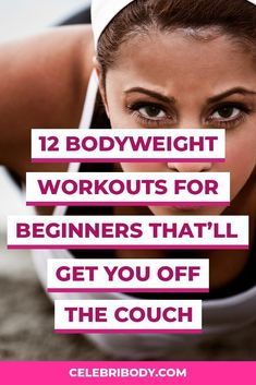 Finding the right bodyweight workouts for women can be a challenge, especially if you're new to working out. We're here to help with the best beginner bodyweight workouts that can help you build muscle. These bodyweight workouts target the arms, legs, abs and glutes to give you a sweaty workout you'll love.