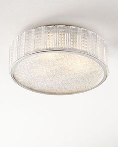 Aaria Three-Light Ceiling Fixture at Horchow.
