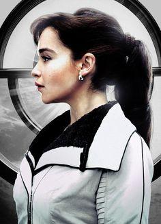 Qi/'ra Han Rey Star Wars Fin Qi ra  Vintage Charmed Cosplay Necklace Earring Set
