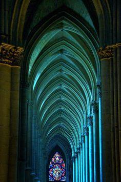 blue arches