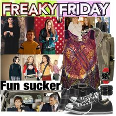 50. Freaky Friday by italian-londonlover on Polyvore featuring G.Girl, Converse, TKO Orlogi and Roxy