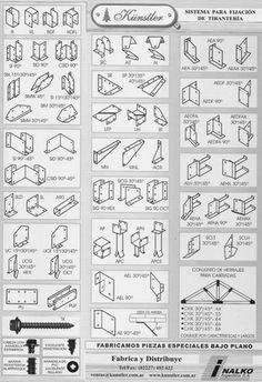 Arquitectura en madera: Uniones metálicas para madera - Sistema Künstler