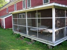 Sleeping porch for rent in Maine