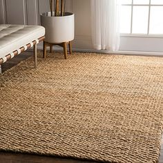 Shop for nuLOOM Handmade Natural Jute Rug (6' x 9'). Get free shipping at Overstock.com - Your Online Home Decor Outlet Store! Get 5% in rewards with Club O!