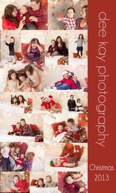 Christmas minis, Christmas portraits