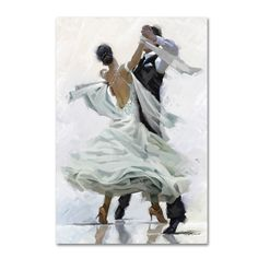 The Macneil Studio 'Waltz' Canvas Art